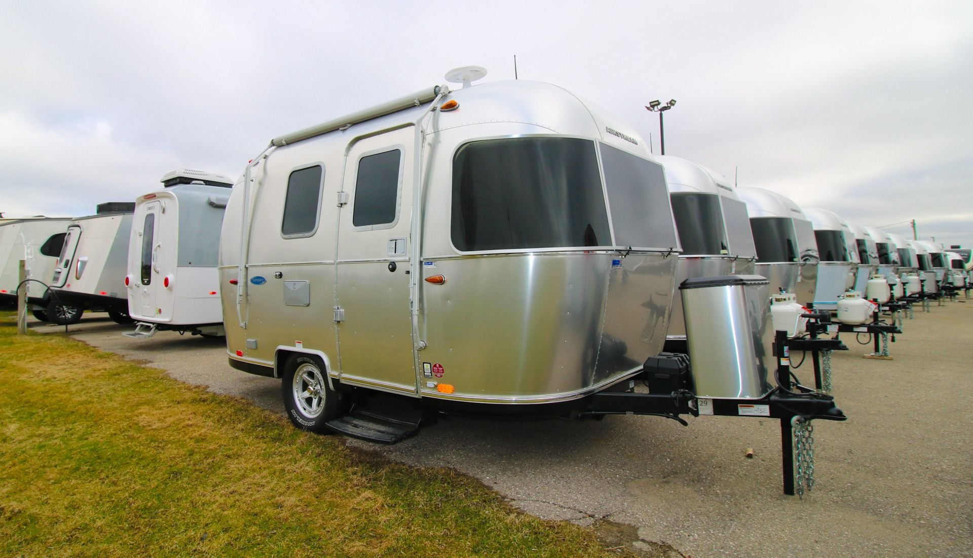 The Airstreams Have Arrived! Slide Image