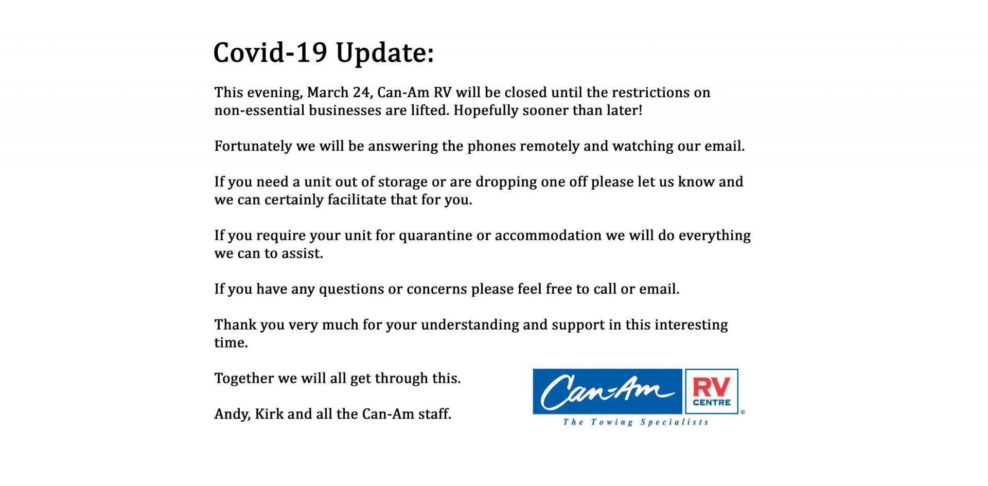 Covid-19 Update Slide Image