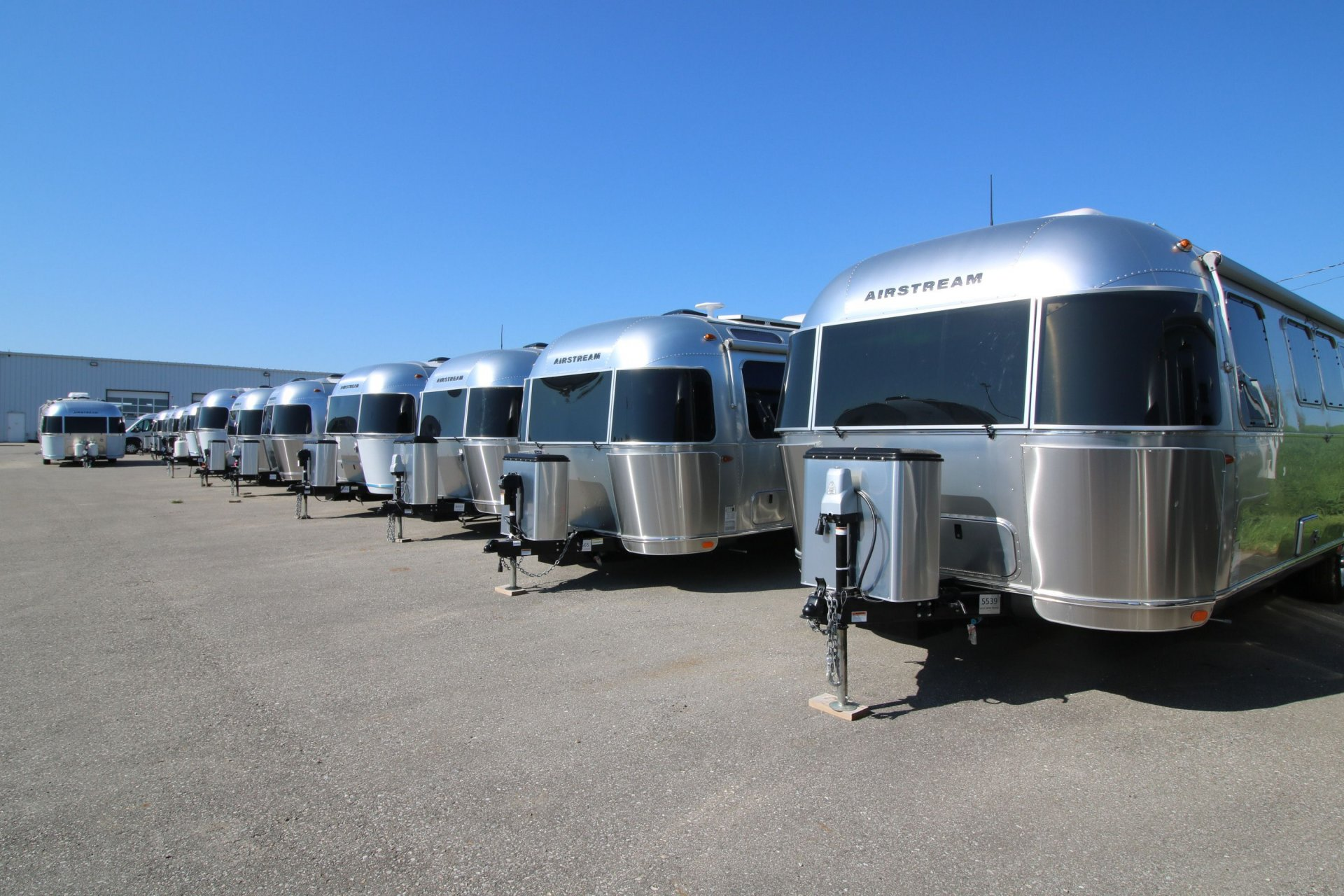 Airstreams On Order! Slide Image