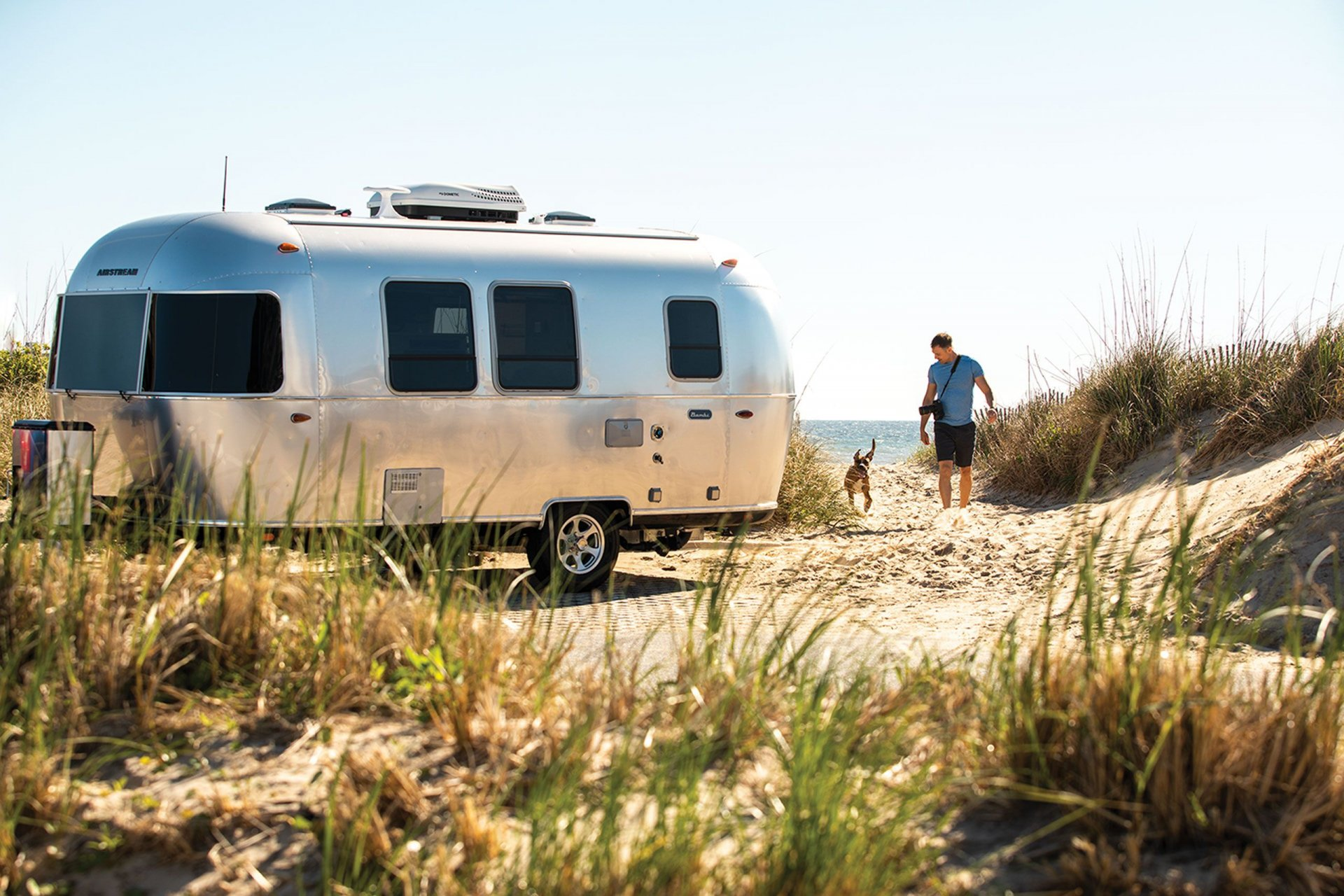 The Airstreams have landed Slide Image