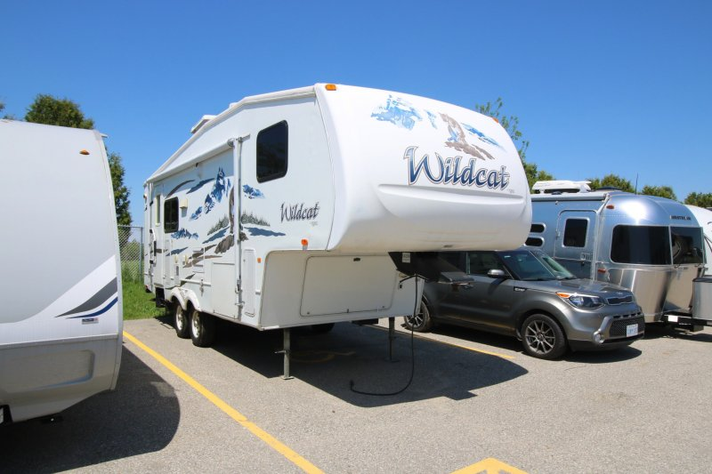 2007 FOREST RIVER WILDCAT 24RL